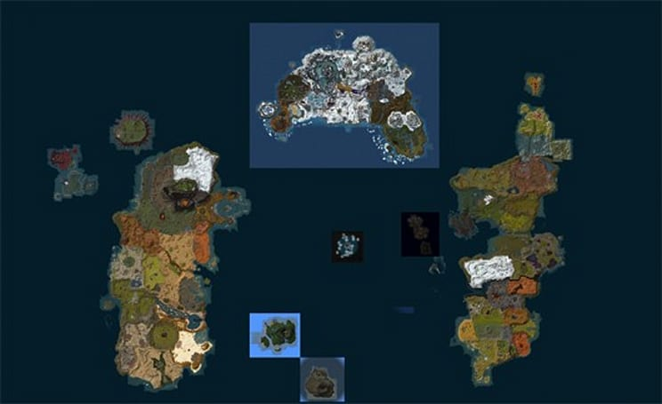 World of MapCraft: explore Azeroth using a Google Maps-style interface