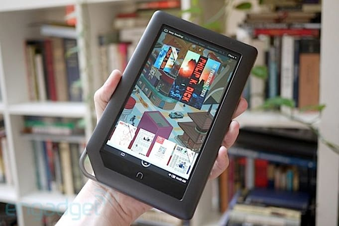 Barnes & Noble 2012 Q3 Report: loss-making Nook generates sales, tears