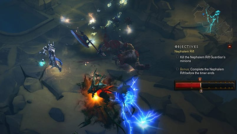 Legendary Gems, Greater Rifts now infest Diablo 3