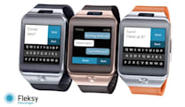 Fleksy brings a predictive messaging app to the Gear 2 smartwatch