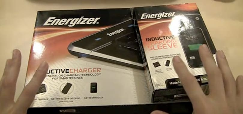 Energizer Qi wireless charging base station spotted in the wild
