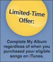 iTunes Complete My Album feature: No, thanks