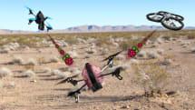 動画:ドローンをハックして乗っ取るドローン SkyJack、クアッドコプターAR.Drone 2.0とRaspberry Piで製作