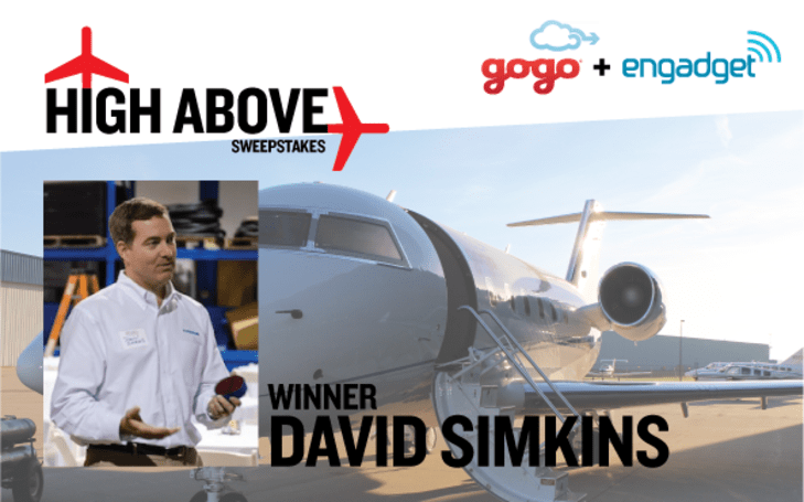 We have a winner in our Gogo High Above sweepstakes and more tickets to give away