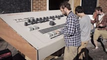 Artists build a Roland TR-909 drum machine for giants