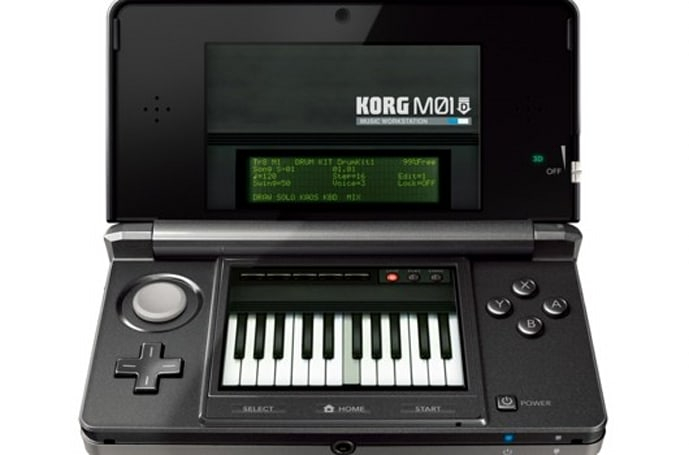 Korg M01D waits for the drop on 3DS eShop this summer