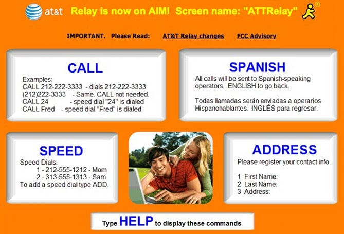 AT&T unleashes Real Time IM Relay for the hearing impaired
