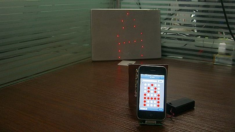 Laser Matrix instructions will help you make an incredibly facile projector of your iPhone