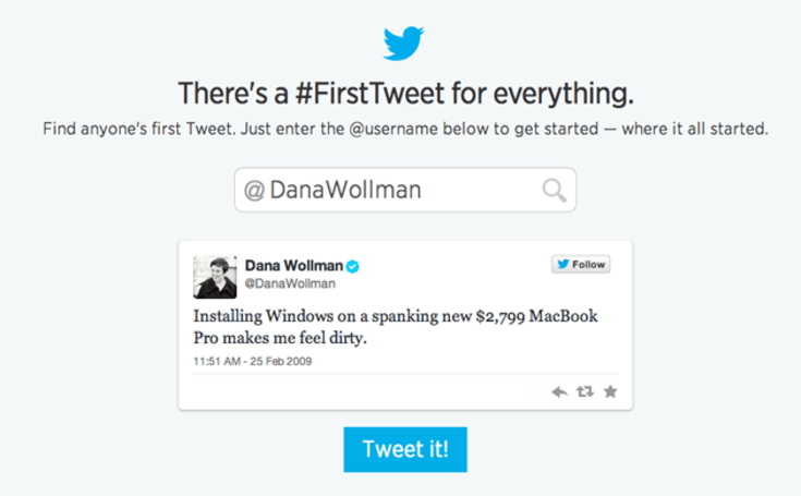 Twitter's first tweet tool is a painful reminder that none of us initially 'got' this Twitter thing