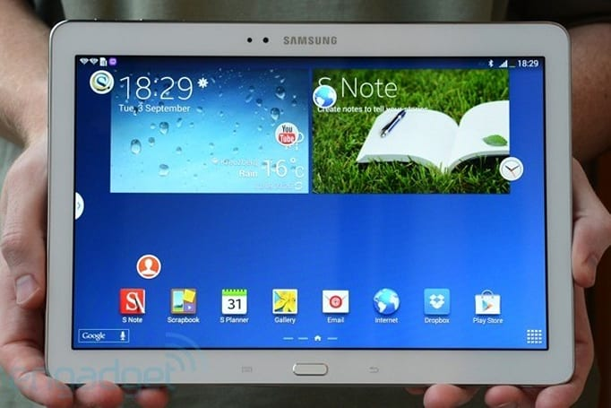 Samsung Galaxy Note 10.1 (2014 edition) hands-on