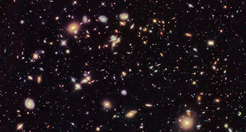 Galaxy studies show that the universe is slowly dying