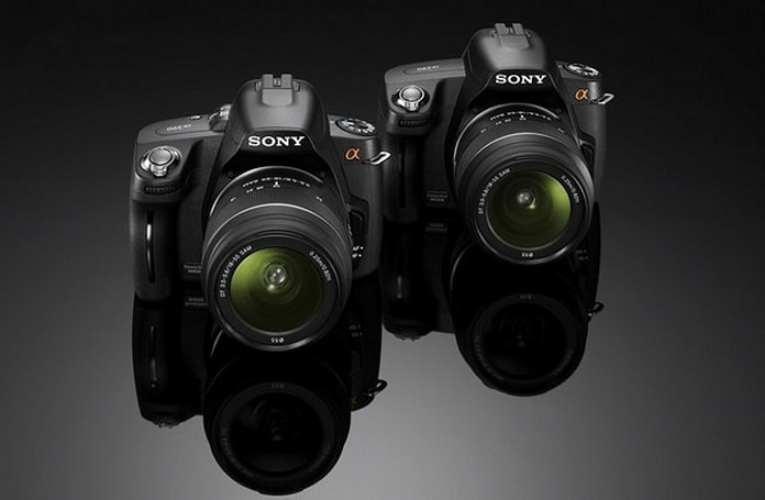 Sony's value-minded A290 DSLR gets official, drags big bro A390 on stage