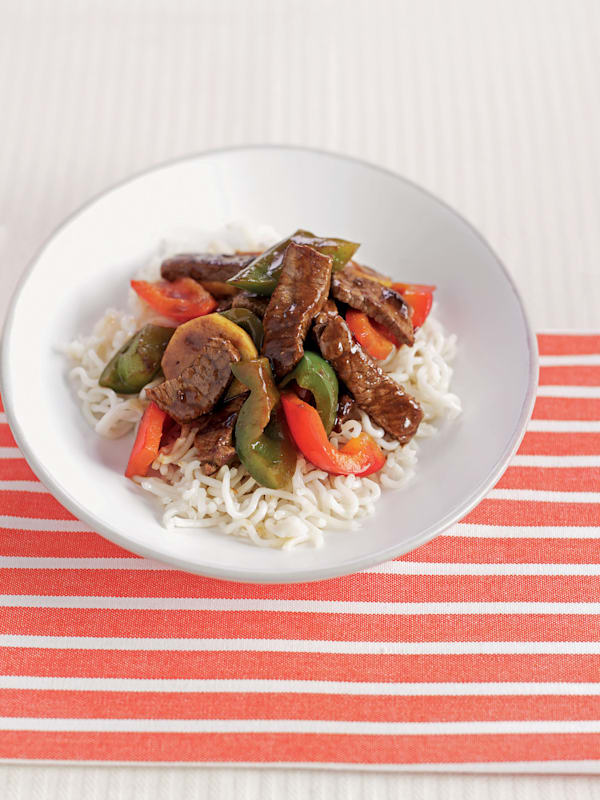 Ginger Beef with Peppers recipe