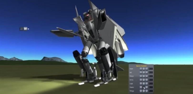 Transformers' Starscream takes flight in Kerbal Space Program