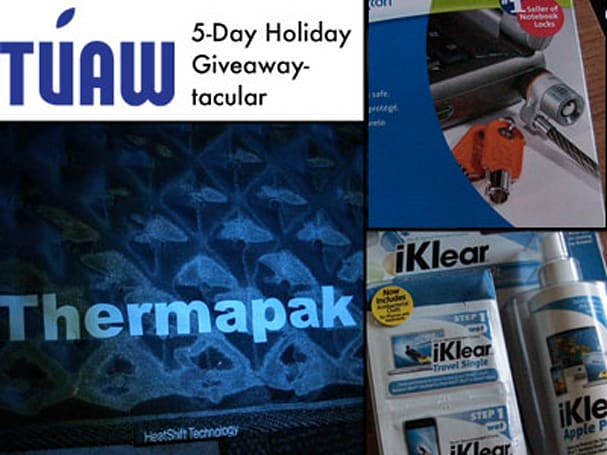 TUAW Holiday Giveaway-tacular Part Three: cool portable accessories