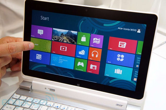 Acer unveils 11.6-inch Iconia W700, 10.1-inch W510 Windows 8 tablets (update: hands-on)