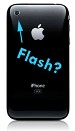 Rumor: Will Apple add a camera flash to the iPhone?
