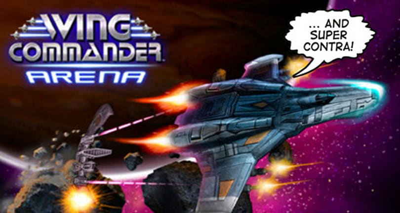 This Wednesday: Wing Commander Arena and Super Contra battle aliens on XBLA