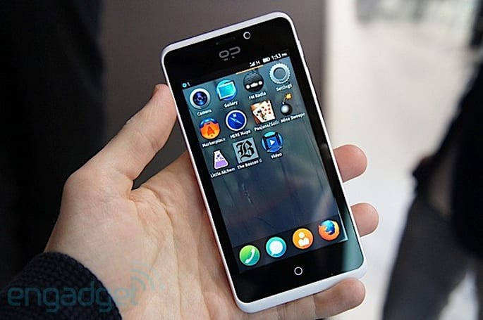 Geeksphone Peak hands-on: a midrange Firefox OS phone from Spain (video)