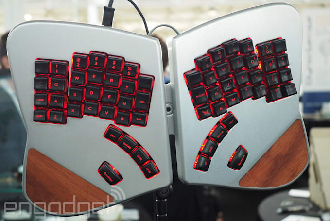 This butterfly keyboard can replace your mouse, sort of