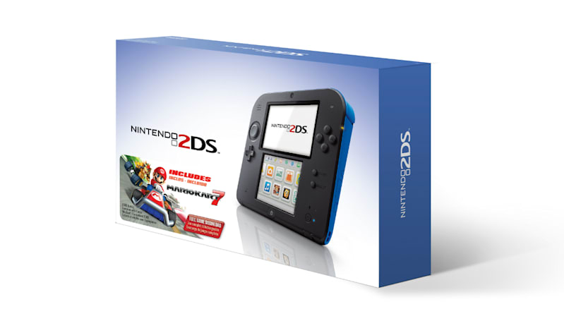 Nintendo drops the 2DS to $100