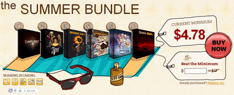 Indie Royale launches The Summer Bundle with 8 games and some chiptunes