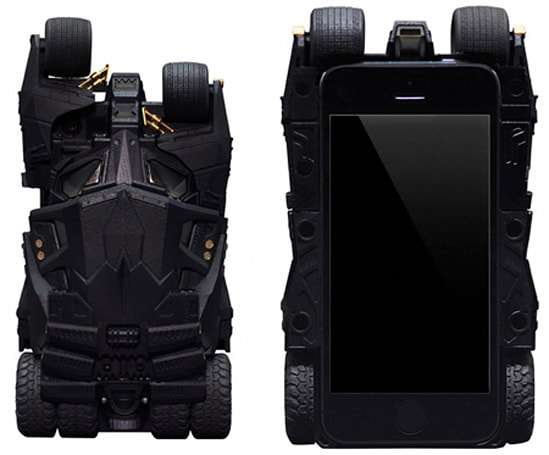 You'd have to be at least a little bit crazy to use this Batman 'Tumbler' iPhone case