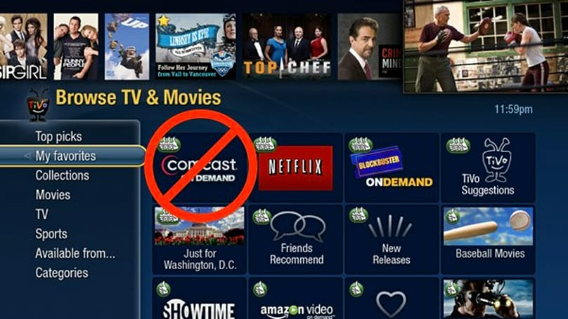 Oops: TiVo Premiere won't have Comcast On Demand