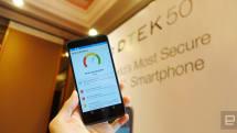 黑莓的第二台 Android 手機,BlackBerry DTEK 50 抵港