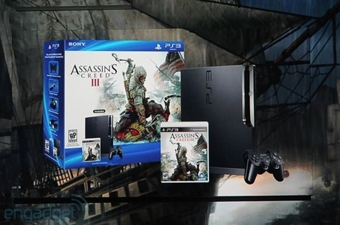 Assassin's Creed 3 getting its own PS3 hardware bundle, comes with 'special DLC'