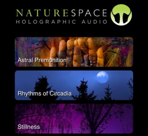 """Naturespace, a """"sonic landscape"""" app, has a special Halloween surprise"""