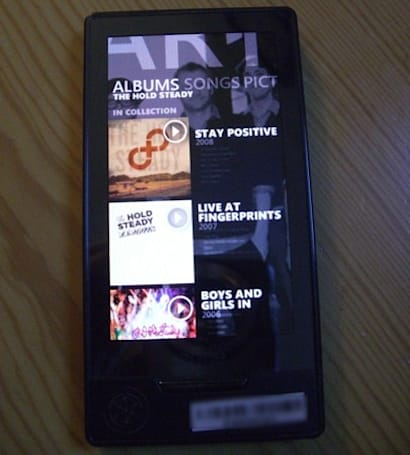 Image of Zune HD's marketplace surfaces, leaves much to the imagination