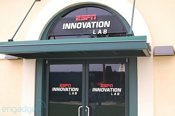 An inside look at ESPN's Innovation Lab