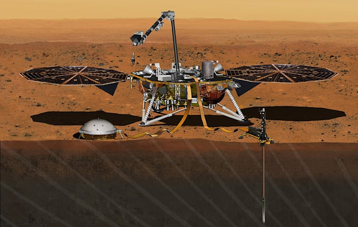 NASA reschedules Mars InSight mission to May 2018