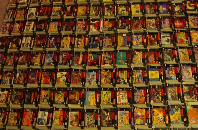 Buy every North American SNES game for $25,000