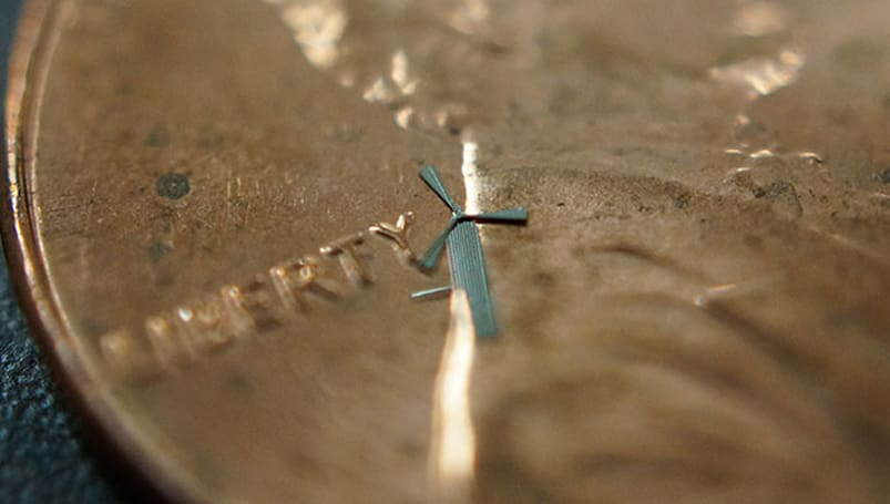Researchers develop tiny windmills that can power your gadgets (video)