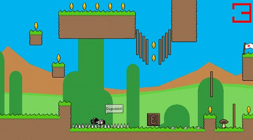 Fall Over: A platformer for gentlemen