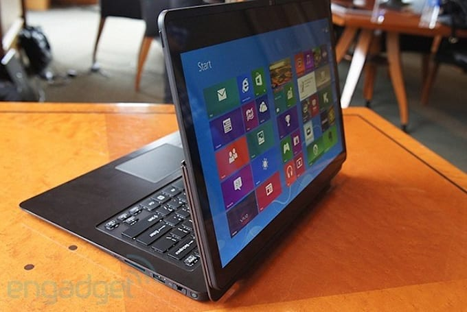 Sony announces VAIO Flip PC, looks to steal the IdeaPad Yoga's thunder