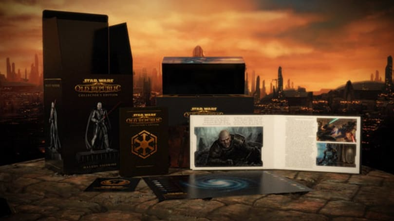 Star Wars: The Old Republic video gives a look inside the collector's edition