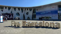 我們已經抵達 Mobile World Congress 2014 了!