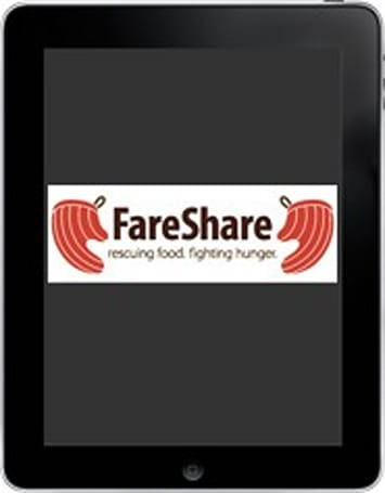 iPads now helping food charity feed the hungry