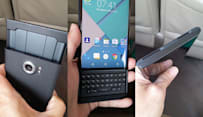 BlackBerry's Android phone in the wild