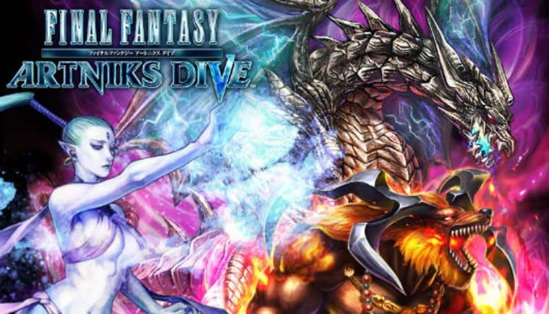 Final Fantasy Artniks Dive says pick a card, any card