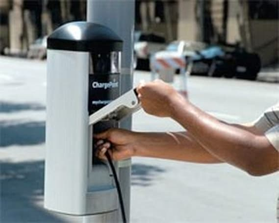 142 electric vehicle charging stations head to Massachusetts, Nantucket and MV not included