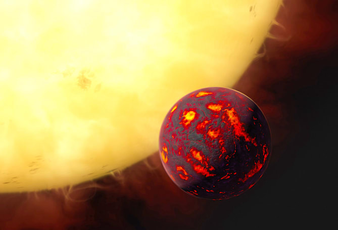 NASA takes a Super-Earth's temperature