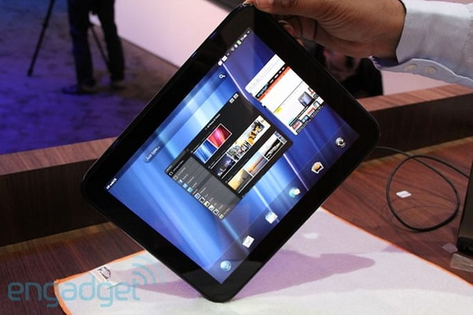 HP TouchPad first hands-on! (updated with video!)