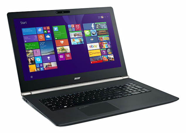 Acer's upgraded laptops include one with a motion-sensing 3D camera