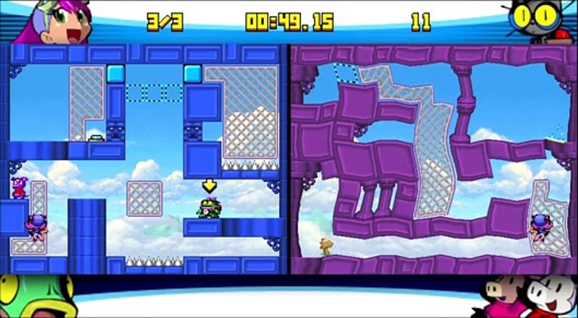 Portabliss: Mighty Flip Champs DX (PSP Minis)