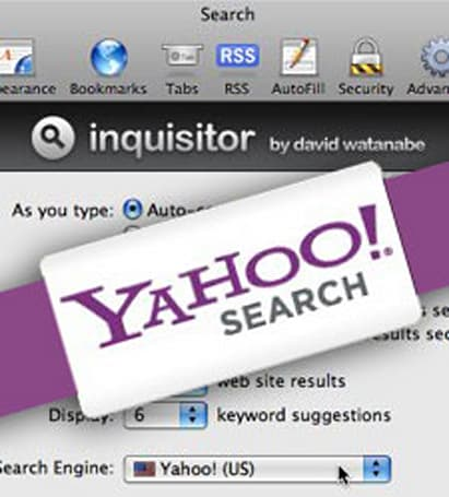 Yahoo! and Inquisitor seen sitting in tree