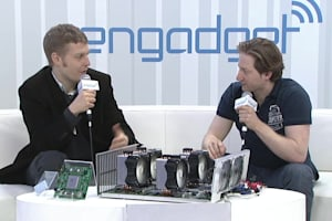 Engadget at CES 2014: KnCMiner AB - Bitcoin Mining Device